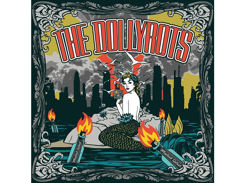 The Dollyrots - WHIPLASH SPLASH [CD]