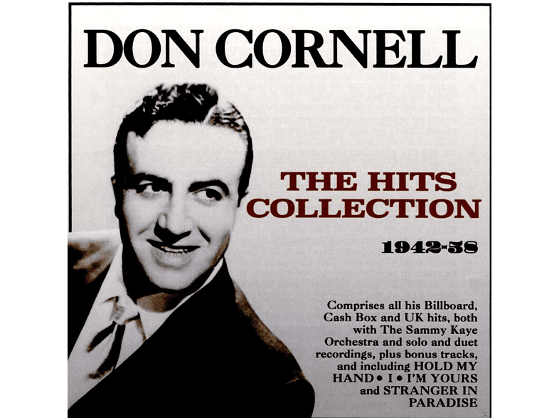 Don Cornell - The Hits Collection [CD]