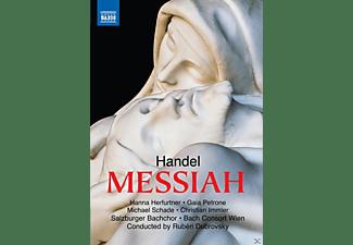 Hanna Herfurtner, Gaia Petrone, Michael Schade, Christian Immler, Bach Consort Wien, Salzburger Bachchor - Der Messias  - (DVD)