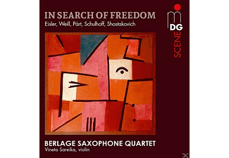 Berlage Saxophone Quartet - In Search of Freedom  - (SACD Hybrid)