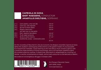 Amaryllis Dieltiens, Capriola Di Gioia - Arie Da Concerto  - (CD)