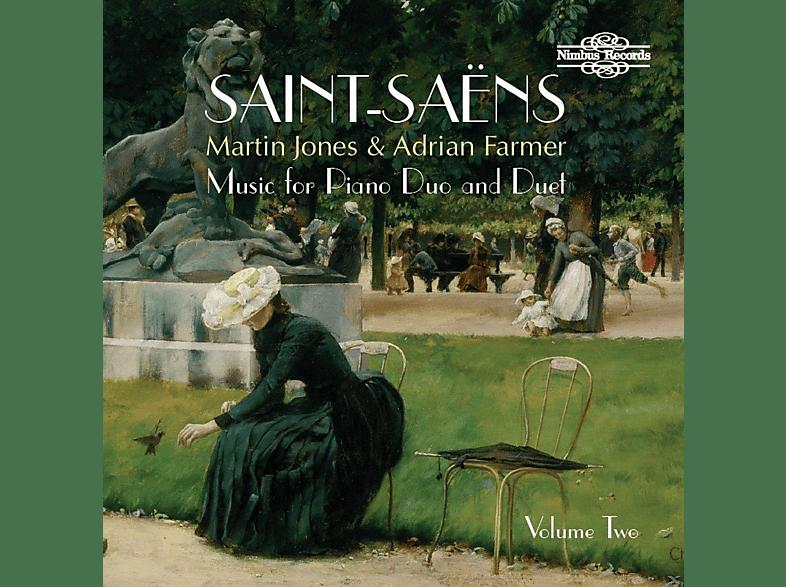 Martin Jones, Adrian Farmer - Musik für Piano Duo & Duett Vol.2 [CD]