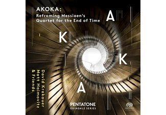 Matt Haimovitz, David Krakauer, Jonathan Crow, Geoffrey Burleson - Akoka: Reframing Messiaens Quartet...  - (SACD)