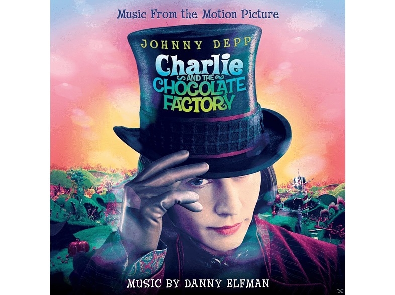 Danny Elfman, OST/VARIOUS - CHARLIE AND THE CHOCOLATE FACTORY (OST)-MARBLED [Vinyl]