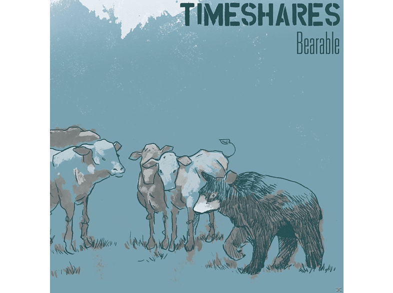 Timeshares - BEARABLE [Vinyl]