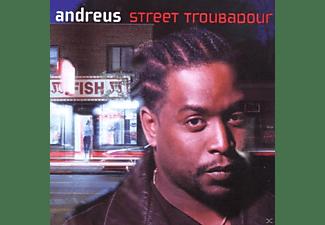 Andreus - Street Troubadour  - (CD)