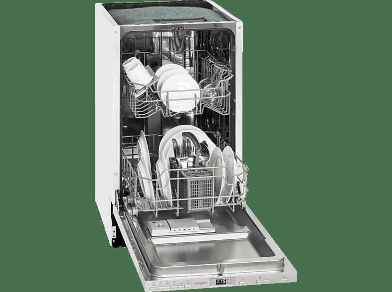 EXQUISIT EGSP 2109.1E   Geschirrspüler (vollintegrierbar, 448 mm breit, 49 dB (A), A++)