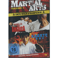 Martial Arts Double Feature: Shaolin From America / Karate Boy [DVD]