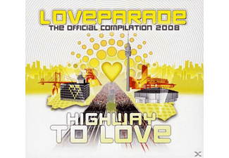 VARIOUS - Loveparade 2008  - (CD + DVD Video)