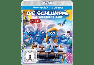 Die Schlümpfe - Das verlorene Dorf  3D Blu-ray (+2D)