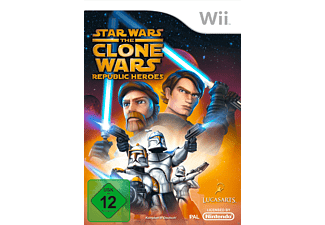 Star Wars: The Clone Wars - Republic Heroes - [Nintendo Wii]