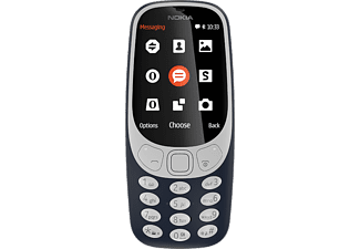 NOKIA Mobiltelefon 3310 (2017), Blau