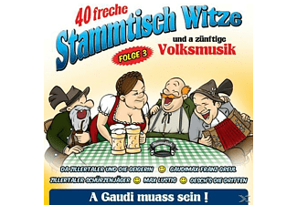 VARIOUS - 40 freche Stammtischwitze-Folge 3  - (CD)