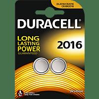 DURACELL Specialty 2016 2016 Knopfzelle, Lithium, 3 Volt 2 Stück