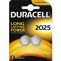DURACELL Specialty 2025 2025 Knopfzelle, Lithium, 3 Volt 2 Stück