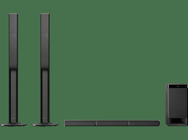 SONY HT-RT4, 5.1 Heimkino System, Schwarz