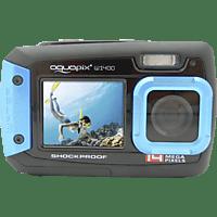 EASYPIX W1400 Active Unterwasserkamera Blau, 14 Megapixel, 1x opt. Zoom, TFT