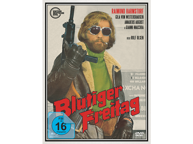 Blutiger Freitag (Limited Digipak) [Blu-ray + DVD]