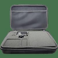 GOXTREME Big, Hardcase Schutztasche, Schwarz, passend für Actioncams und Zubehör