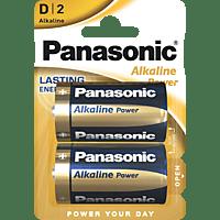 PANASONIC LR20APB/2BP D Batterie Alkaline 2 Stück