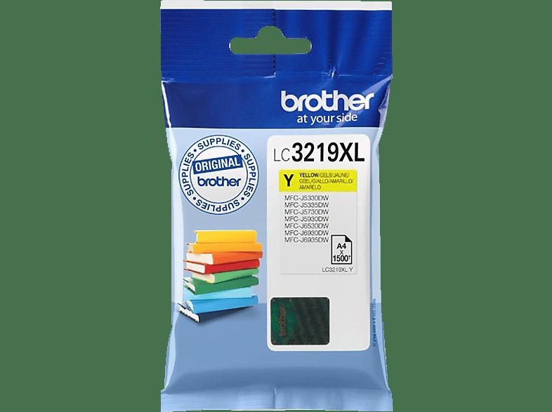BROTHER Original Tintenpatrone Gelb (LC3219XLY)