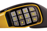 CORSAIR SCIMITAR PRO RGB Gaming Maus, Schwarz/Gelb