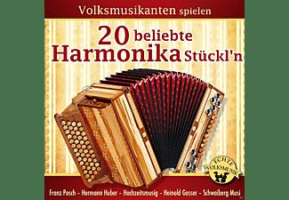 VARIOUS - Volksmusikanten Spielen 20 Beliebte Harmonika Stückl'n  - (CD)