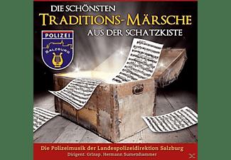 Polizeimusik Salzburg - Die Schönsten Traditions-Märsche Aus Der Schatzkiste  - (CD)