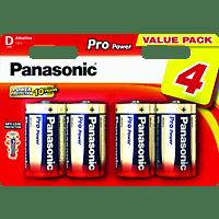 PANASONIC LR20PPG/4BW LR20 Batterien Alkaline 4 Stück