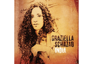 Graziella Schazad - India  - (CD)