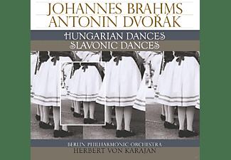 Berlin Philharmonic Orchestra - BRAHMS HUNGARIAN DANCES & DVORAK SLAVONIC DANCES  - (Vinyl)