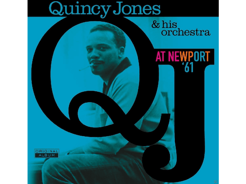 Quincy & His Orchestra Jones - AT NEWPORT 61 [Vinyl]