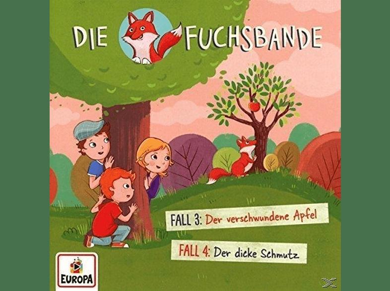 Die Fuchsbande - 002/Fall 3: Der verschwundene Apfel/Fall 4: Der - (CD)