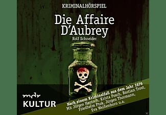 Von Rolf Schneider - Krista Posch-jürgen Hentsch - Die Affaire D Aubrey-Kriminalhörspiel  - (CD)
