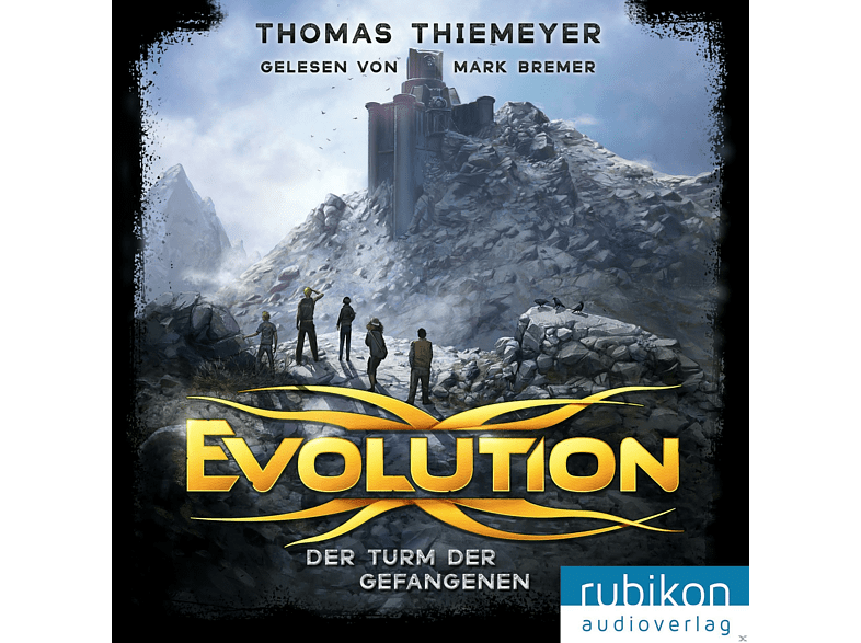 Thiemeyer,Thomas/Bremer,Mark - Evolution. Der Turm der Gefangenen - (MP3-CD)