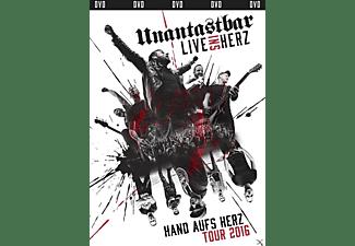 Unantastbar - Live Ins Herz (Ltd. Erstauflage inkl.USB-Stick)  - (DVD)