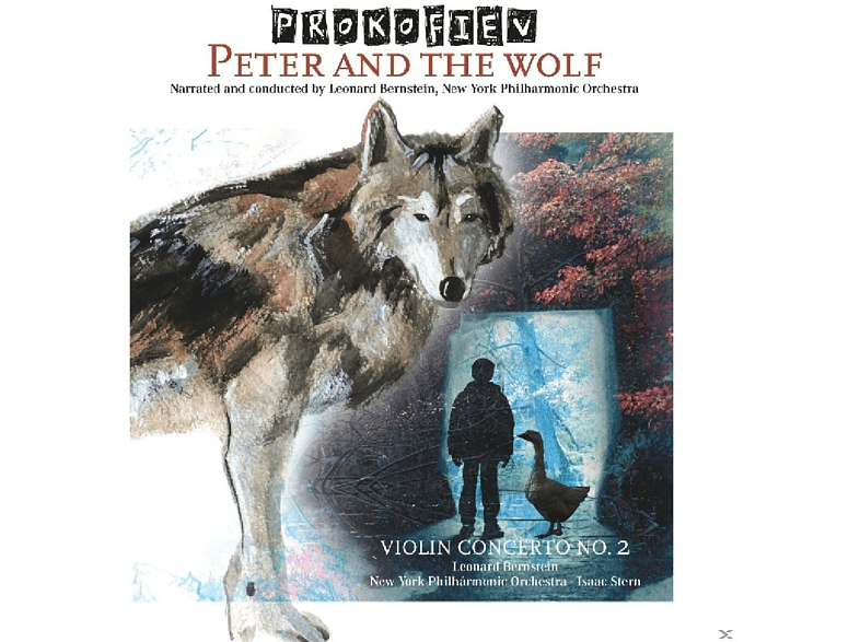 Isaac Stern, New York Philharmonic Orchestra - Peter and the Wolf & Violinkonzert 2 [Vinyl]