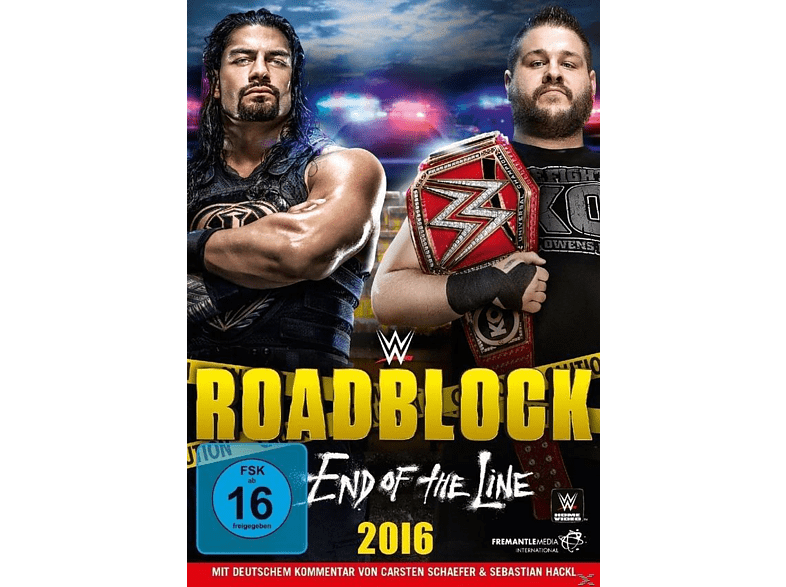 Roadblock 2016-End Of The Line [DVD]