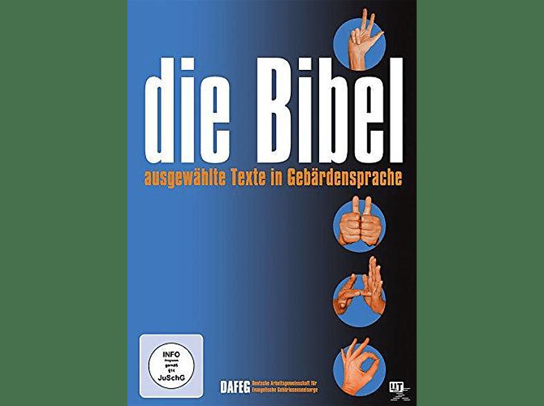 Die Bibel - Ausgewählte Texte in Gebärdensprache [DVD]