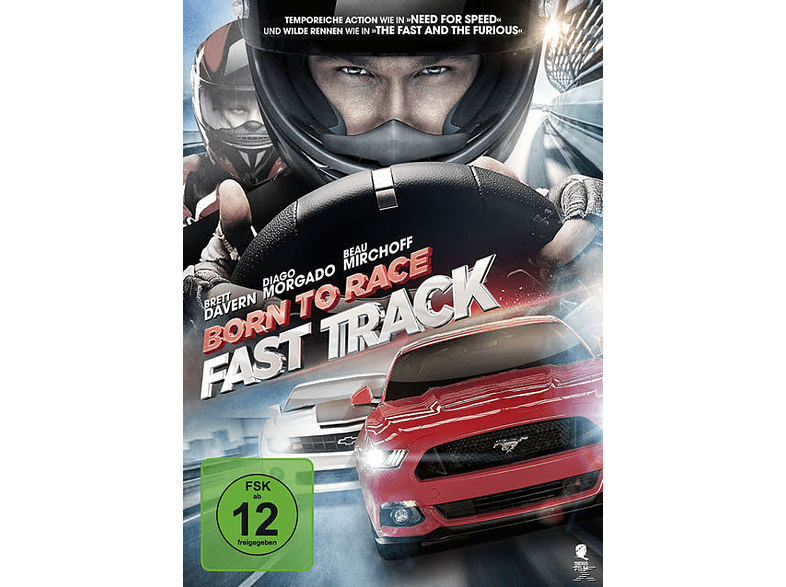 Born To Race - Fast Track [DVD]