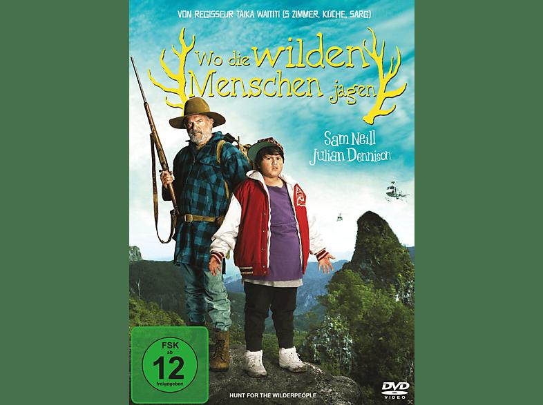 Wo die wilden Menschen jagen [DVD]