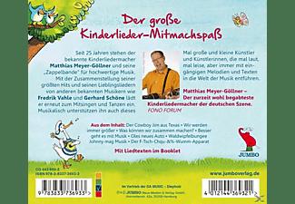 Matthias Meyer-göllner - Du Singst Und Springst Und Fühlst Dich Riesengross  - (CD)