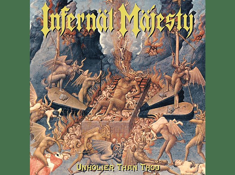 "Infernal Majesty - Unholier Than Thou (Coloured Vinyl+7"") [Vinyl]"