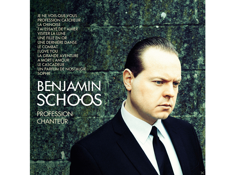 Benjamin Schoos - PROFESSION CHANTEUR (BEST OF) [CD]