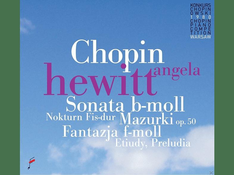 Angela Hewitt - Mazurkas op.50 & Sonata op.35 & Fantasy op.49 [CD]