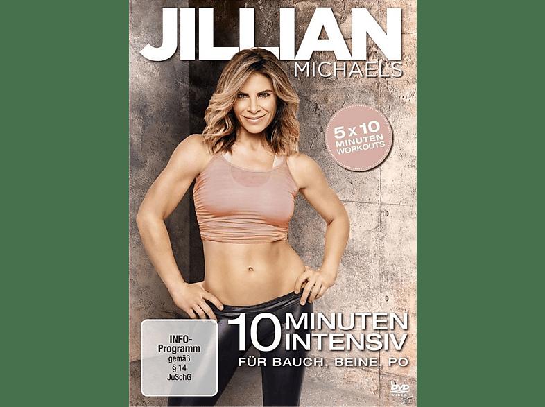 Jillian Michaels - 10 Minuten Intensiv für Bauch, Beine, Po [DVD]
