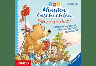 - 1-2-3 Minuten-Geschichten: Mein großer HörSchatz  - (CD)
