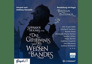 - Sherlock Holmes und das Geheimnis des weißen Bandes  - (CD)