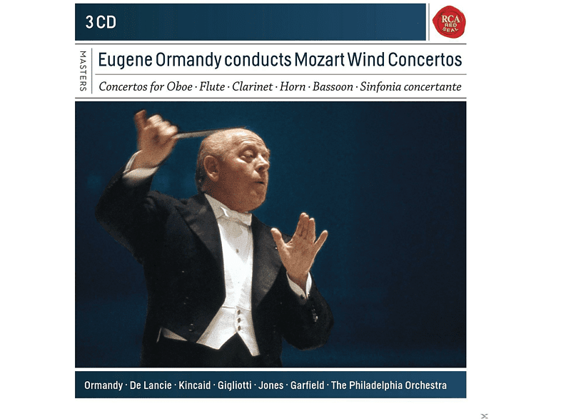 Eugene Ormandy, The Philadelphia Orchestra - Eugene Ormandy Conducts Mozart Wind Concertos [CD]
