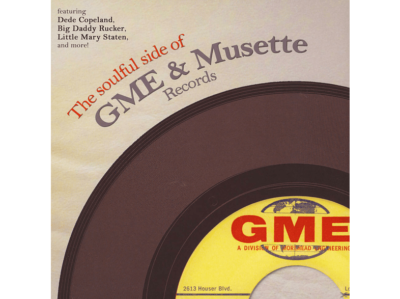 VARIOUS - The Soulful Side Of GME & Musette Records [LP + Download]